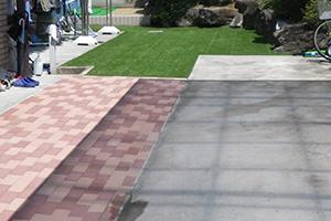 庭園リノベーションの一例 施工後